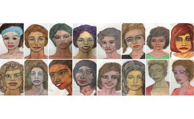El FBI publica los retratos hechos por un asesino en serie de sus víctimas para identificarlas
