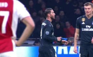 UEFA abre expendiente a Ramos por reconocer que forzó la tarjeta
