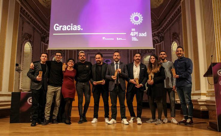 La Asociación Andaluza de Diseñadores entrega los IV Premios del Diseño