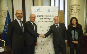 La Caixa eleva su apuesta por la Málaga cultural en 2019