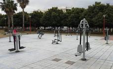Rincón incorpora nuevos aparatos para hacer deporte al aire libre