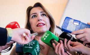 Susana Díaz respalda a Pedro Sánchez y llama a la movilización: «Que tomen nota de lo que pasó en Andalucía»