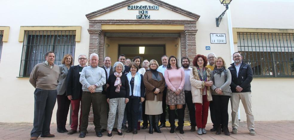 Los jueces de paz de Málaga crean una plataforma para reivindicar su labor