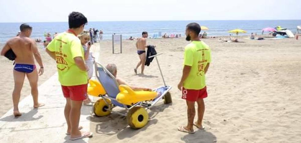 Piden una zona de baño adaptada en La Malagueta