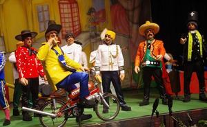 31 grupos cantan en las semifinales del Carnaval de Málaga