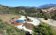 Concluye la nueva zona deportiva y verde de La Resinera y Las Joyas