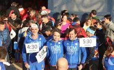La carrera solidaria Entreculturas, en el Estadio de Atletismo, en imágenes