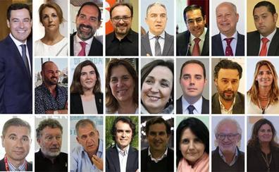 El peso de Málaga en la Junta
