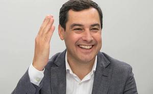 Juanma Moreno apela al músculo del PP por el poder en la Junta para ganar