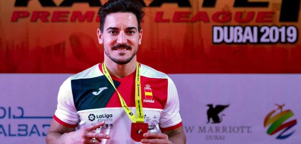 Damián Quintero, medalla de plata en Dubai