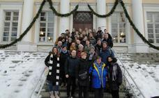 Un proyecto Erasmus+ sobre patrimonio cultural lleva a Finlandia a alumnos del IES Huelin