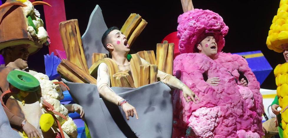 La risa se abre paso en la segunda semifinal del concurso de canto del Carnaval de Málaga