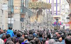 El nuevo recorrido oficial obligará a reducir terrazas en Semana Santa