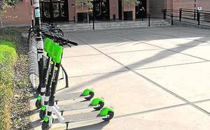 Los patinetes eléctricos de alquiler llegan al campus de la Universidad de Málaga