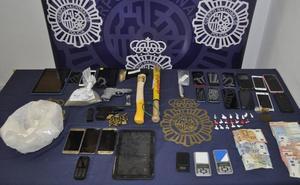 Detenidos en Torremolinos doce miembros de una banda dedicada al tráfico de drogas al «menudeo»