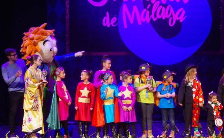Así ha sido la gala infantil del Carnaval de Málaga 2019