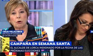 La comparación entre la Semana Santa de Málaga y de Sevilla de Celia Villalobos que escuece en la capital andaluza