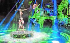 Hadas, unicornio y elfos llevan la magia del circo al Carpena