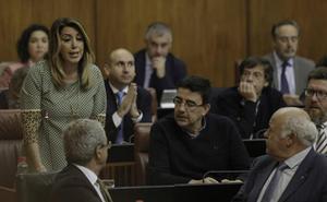 El 47% de la inversión consignada en los presupuestos de la Junta de Andalucía en la etapa de Susana Díaz no se han ejecutado