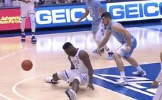 La imagen de Nike, afectada por la lesión de Zion Williamson, gran promesa del baloncesto americano