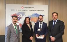 Turkish Airlines elevará un 30% las plazas de la ruta que une Málaga con Estambul