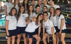 La selección andaluza infantil y júnior, tercera en el Campeonato de España de natación