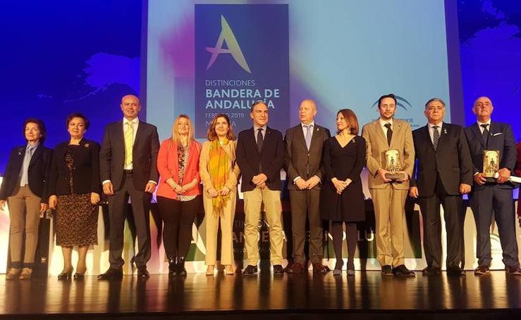 Entrega de distinciones por el Día de Andalucía en Málaga
