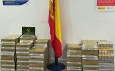La Guardia Civil se incauta de 3.018 cajetillas de tabaco de contrabando en el aeropuerto de Málaga