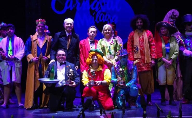 Imágenes de la final del Carnaval de Málaga 2019