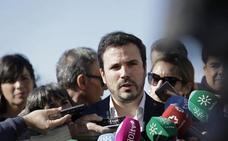 IU propone a Podemos que Garzón encabece la lista de confluencia por Málaga a las generales