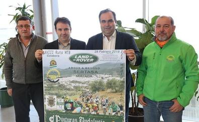 Medio millar de ciclistas participarán en la XVIII Prueba BTT de Casarabonela durante el Día de Andalucía