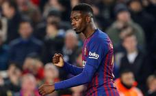 Dembélé, arma del Barça en el Bernabéu