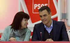 La presidenta del PSOE tiende la mano a Rivera para futuros pactos