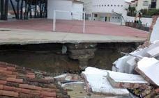 La Junta destina 505.709 euros para reparar daños en centros educativos afectados por el temporal de octubre en Málaga