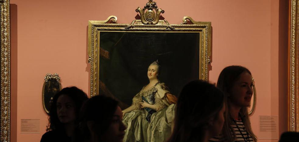 El Museo Ruso es cosa de mujeres