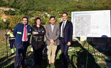 Arrancan las obras para garantizar el suministro de agua en la zona Sur de Ojén y Norte de Marbella