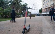 Los patinetes eléctricos, imparables en Málaga