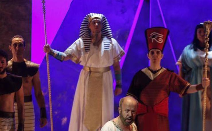 'Aída' llega al Teatro Cervantes