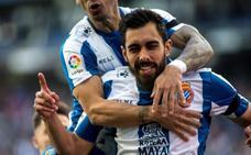Borja Iglesias es rápido, pero no tanto para estar entre los goles más tempraneros de la historia de la Liga