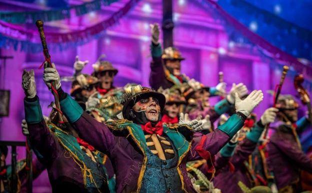 Final Del Carnaval De Cádiz 2019 Vídeo Del Coro Ganador Diario Sur