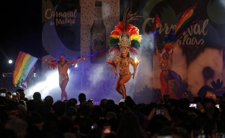 Concurso de drag queen del Carnaval de Málaga 2019