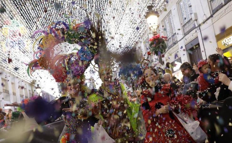 Málaga disfruta de su último sábado de Carnaval