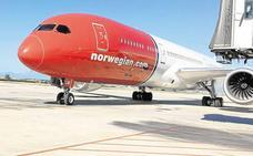 La aerolínea Norwegian ofrecerá este verano en Málaga 1,4 millones de plazas