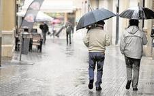 La lluvia vuelve esta semana a Málaga tras un fin de semana con la temperatura más alta del país