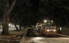 Comienza el asfaltado de La Alameda con la meta en Semana Santa