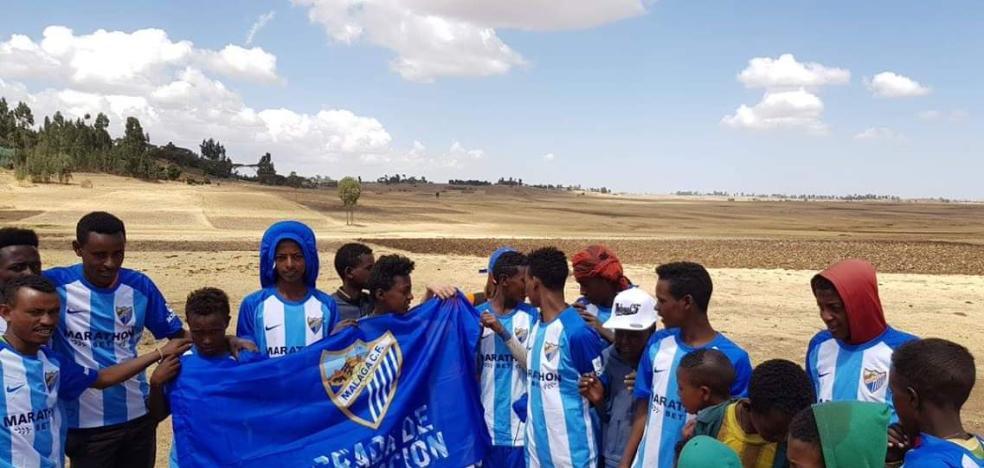 Etiopía se tiñe de blanquiazul