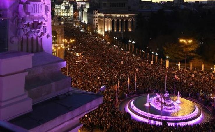 España se moviliza por el 8-M