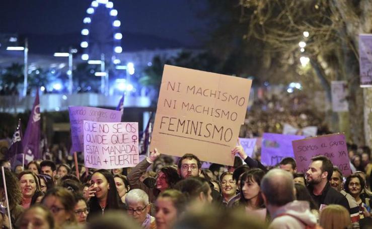 8M | Manifestaciones por el Día de la Mujer en Málaga
