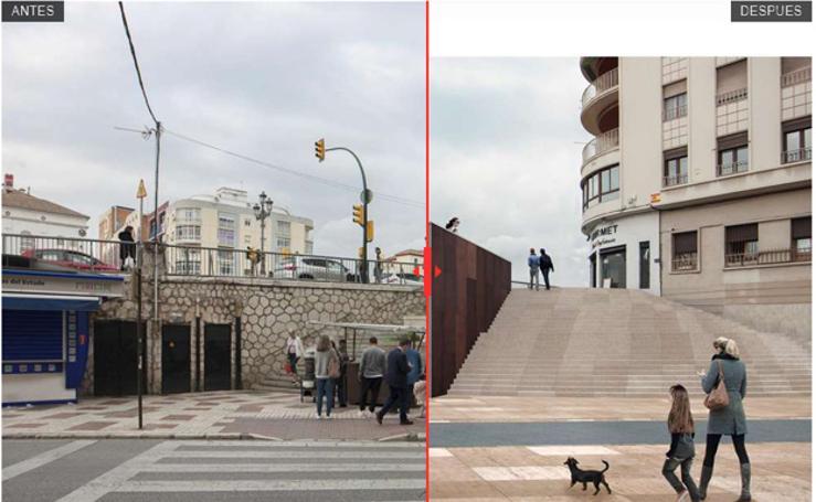 Así será el antes y el después de distintas áreas del centro tras su renovación