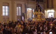 El Chiquito hace grande el vía crucis de la Agrupación de Cofradías